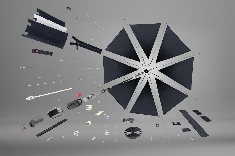 Umbrella components