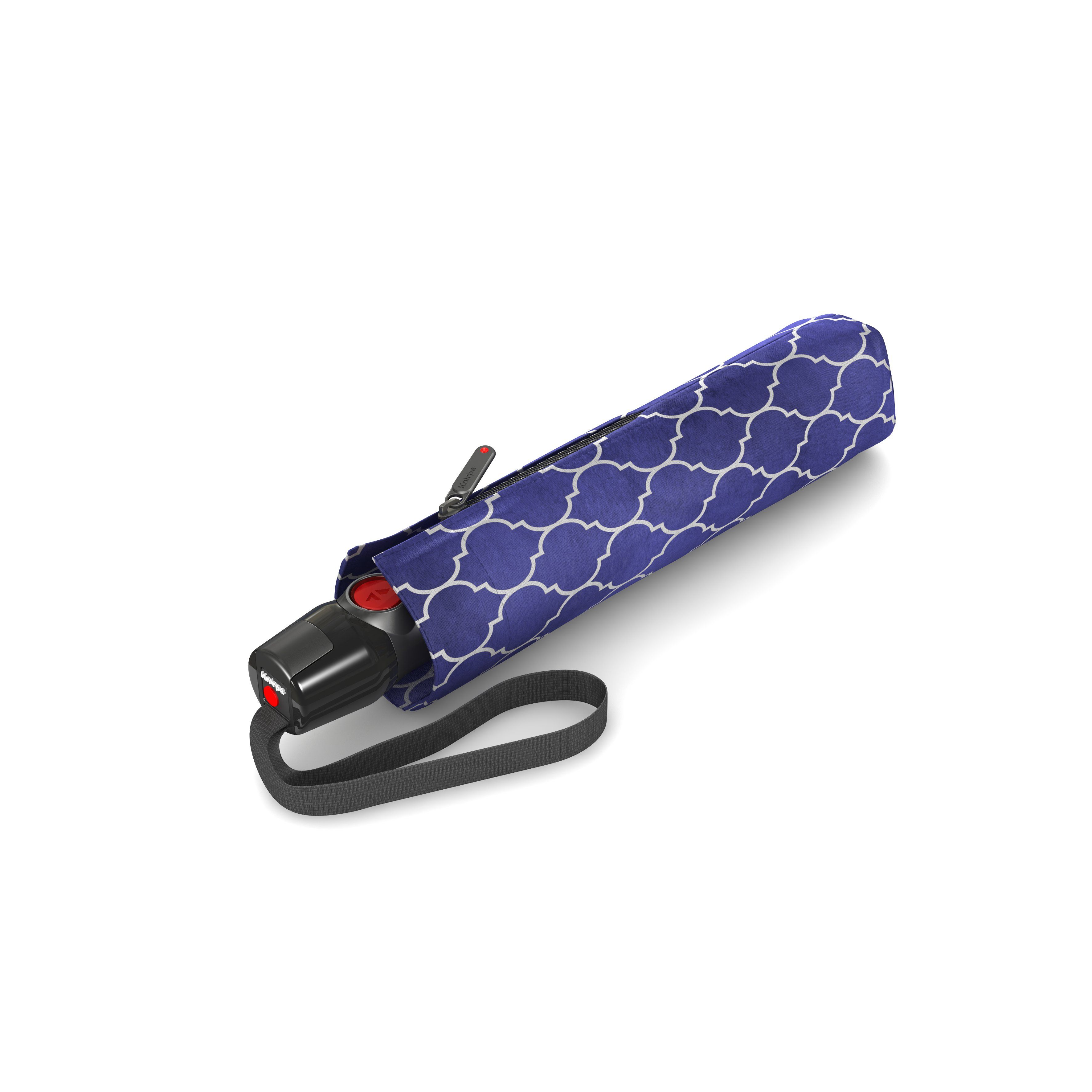 Knirps Umbrella Knirps T.200 medium duomatic regenerate blue with UV Protection - photo 2