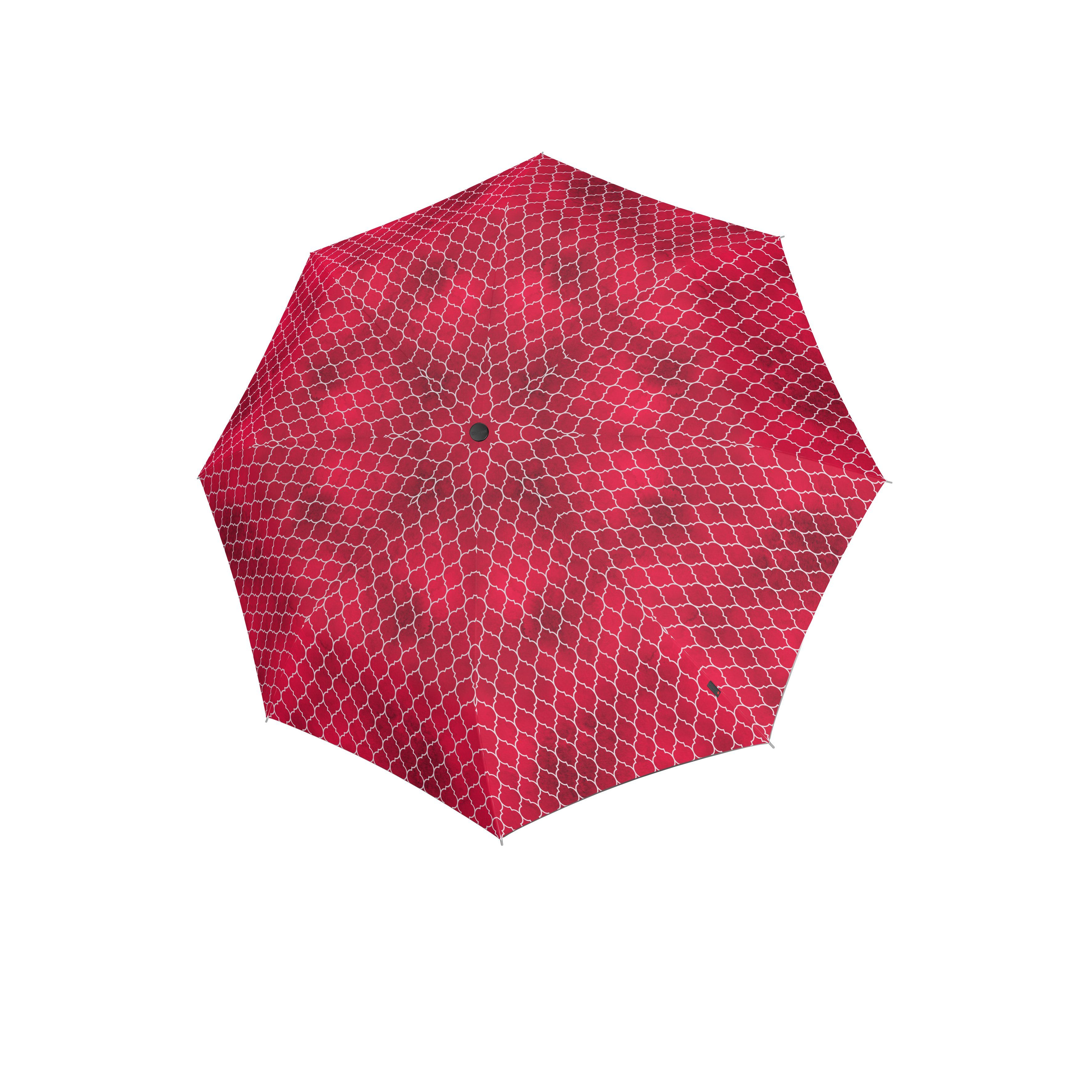 Knirps Umbrella Knirps T.200 medium duomatic regenerate red with UV Protection