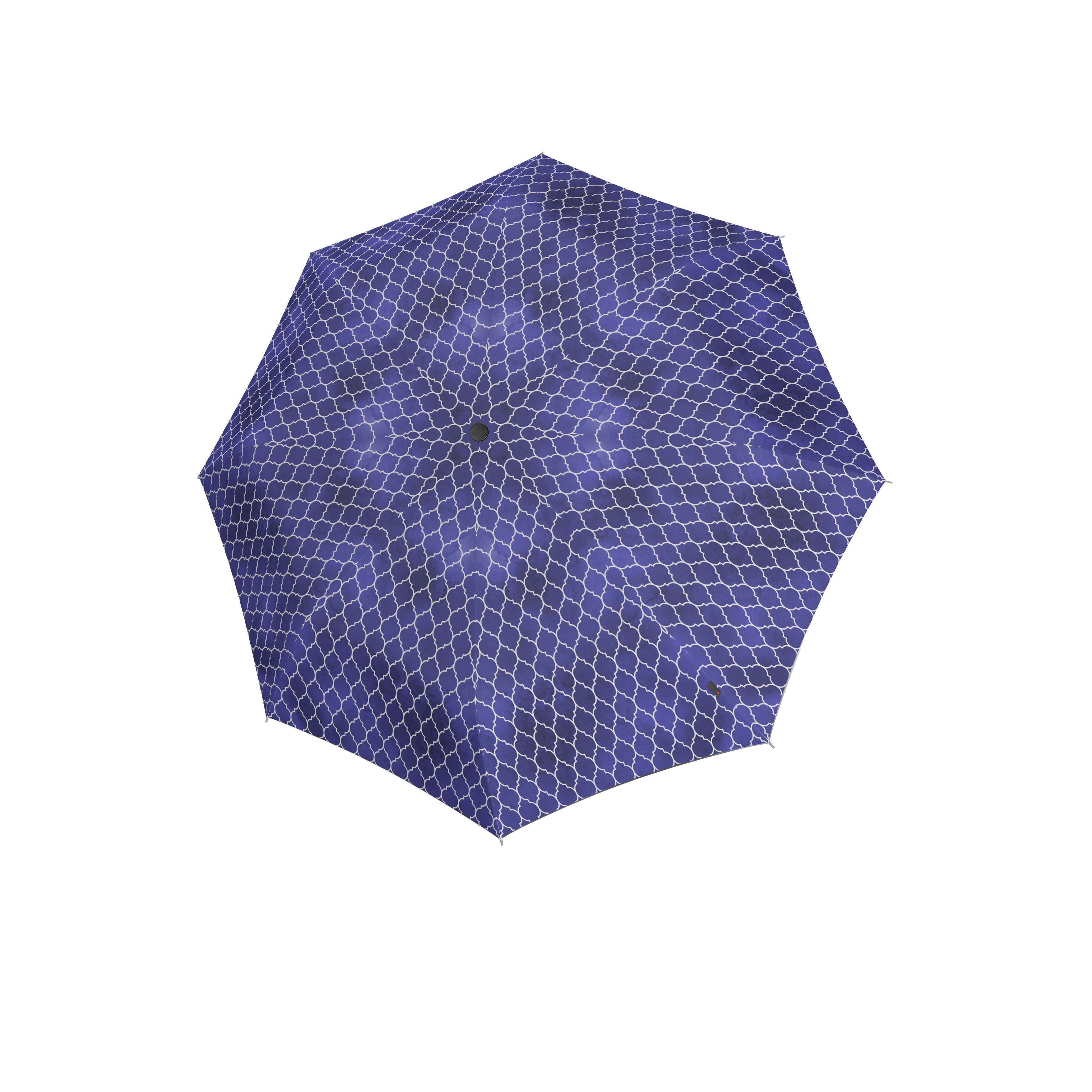 Knirps Umbrella Knirps T.200 medium duomatic regenerate blue with UV Protection