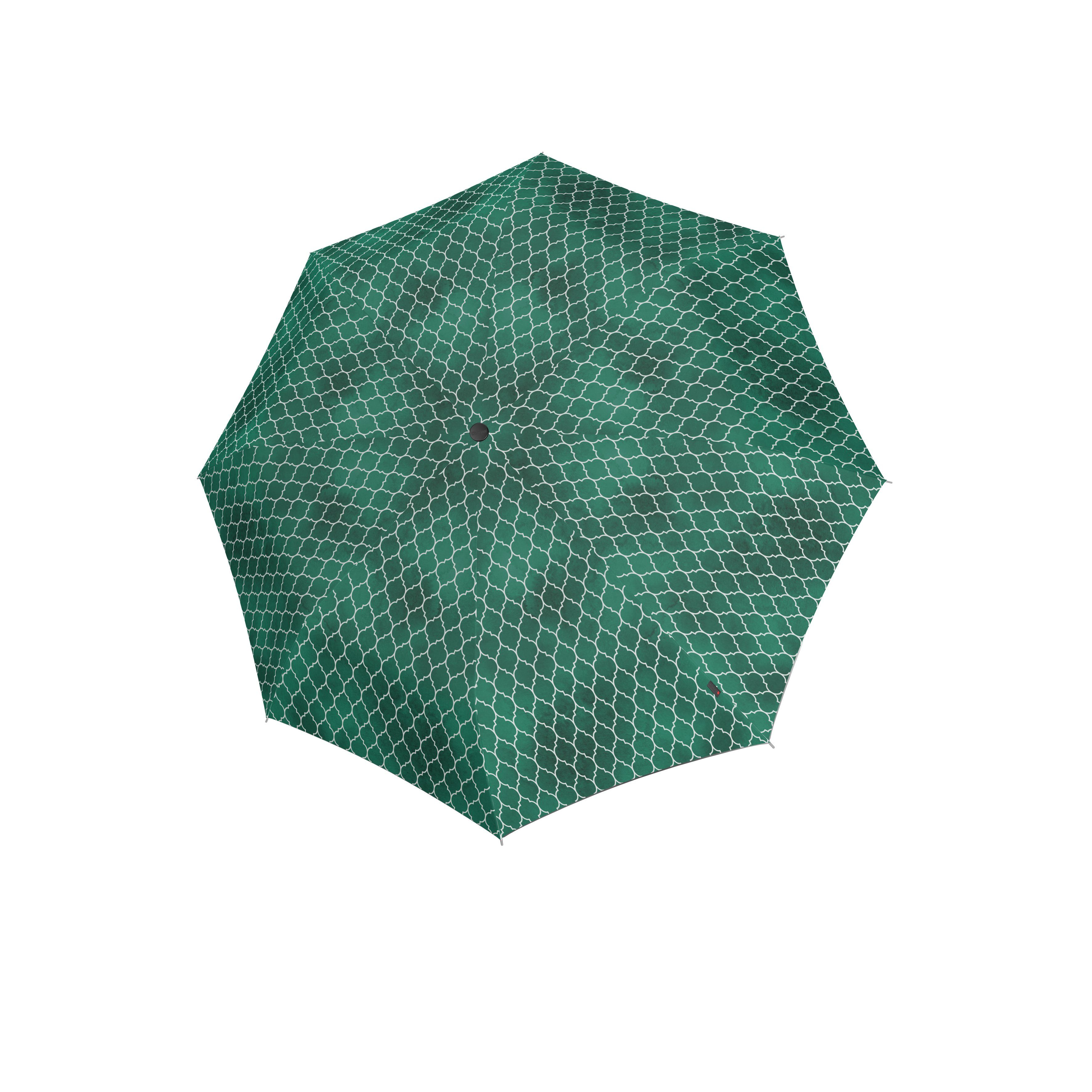 Knirps Umbrella Knirps T.200 medium duomatic regenerate green with UV Protection
