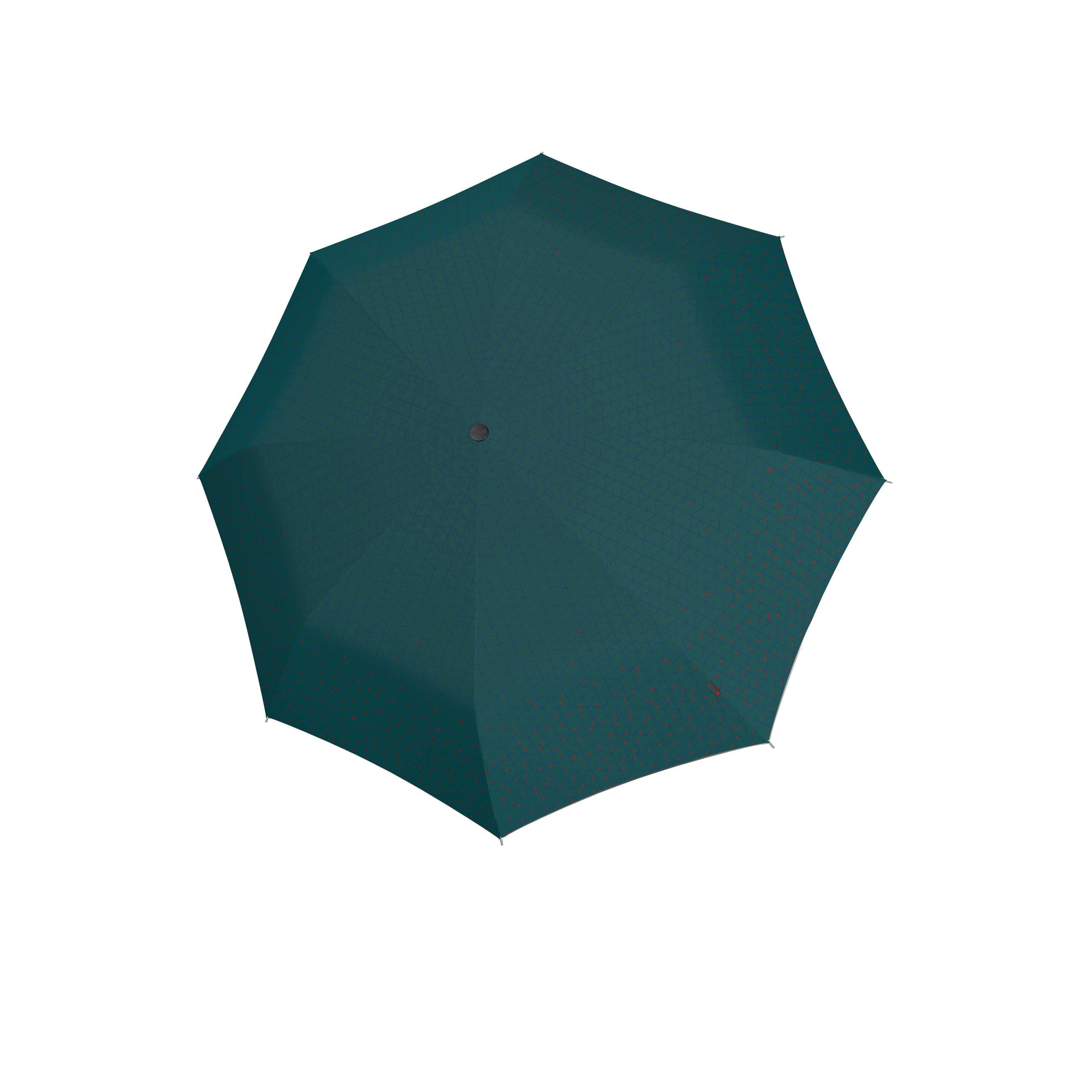Knirps Umbrella Knirps T.200 medium duomatic NUNO biru forest ecorepel with UV Protection