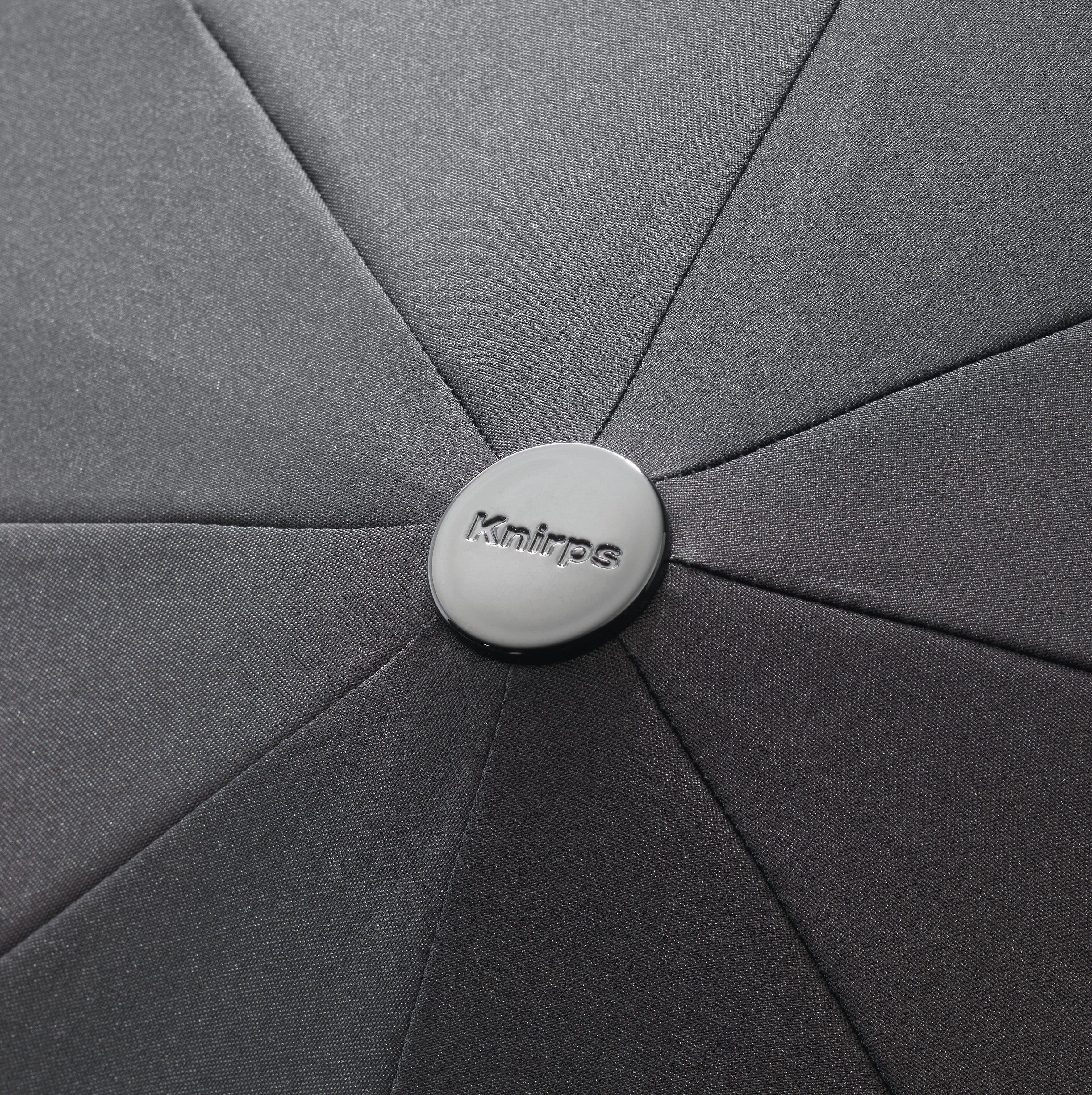 Knirps Umbrella Knirps T.200 medium duomatic renature black ecorepel with UV Protection - photo 3