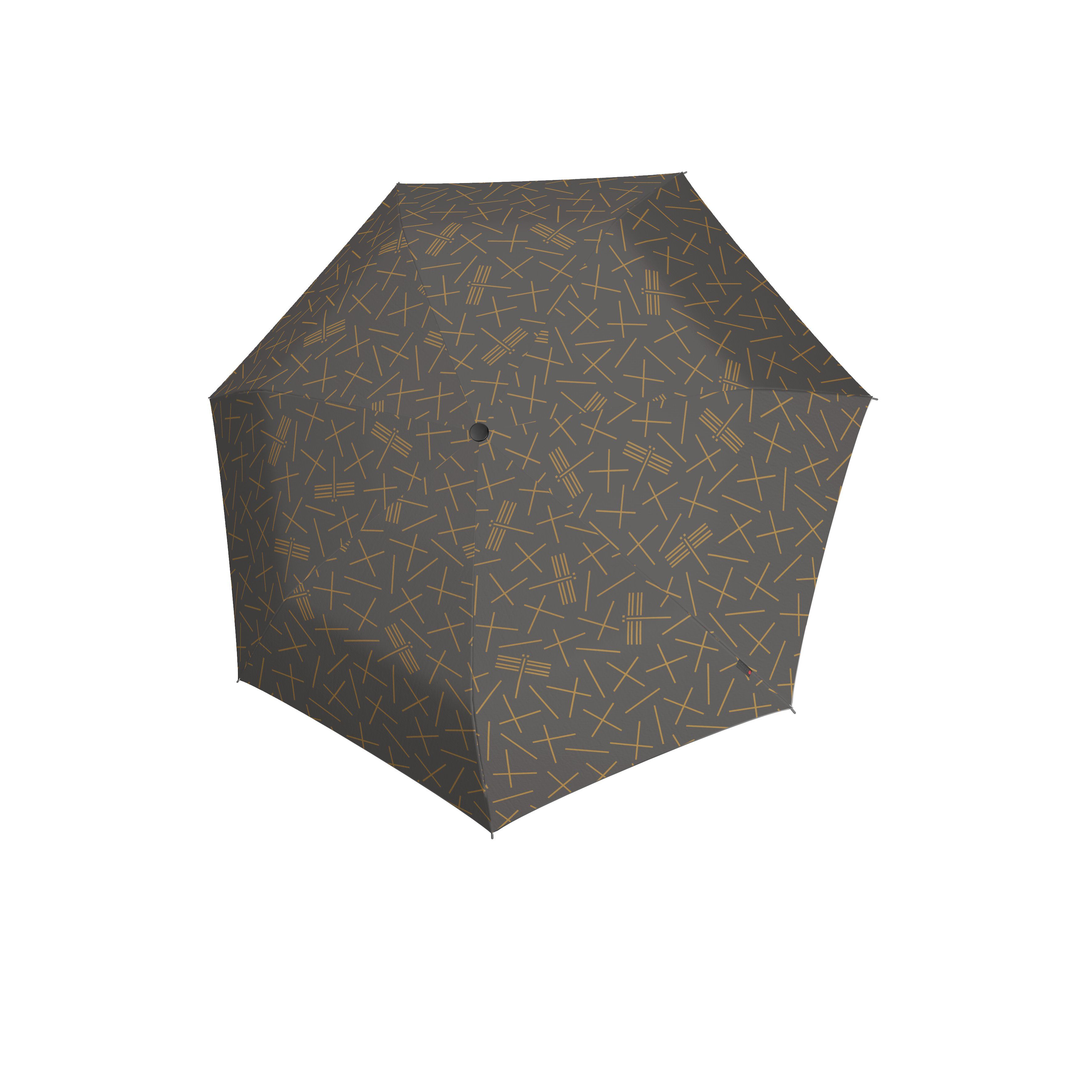 Knirps Umbrella Knirps X1 NUNO tombo stone ecorepel with UV Protection