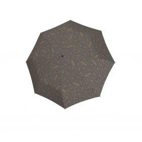 Knirps T.200 medium duomatic NUNO tombo stone ecorepel with UV Protection