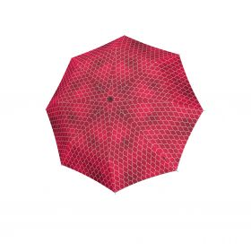 Knirps T.760 stick automatic regenerate red with UV Protection